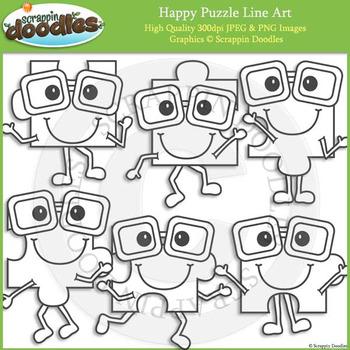 Happy Puzzle Pieces