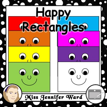 Happy Rectangles Clipart
