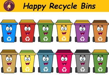 Happy Recycle Bins