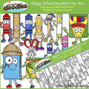 Happy School Supplies