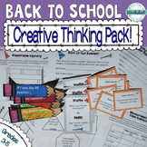 Back to School Creative Thinking--Happy School Year!