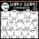 Happy Shapes: 2 Dimensional Clipart