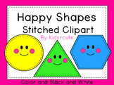 Shapes Clipart {Kidsrcute}