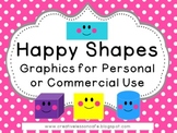 Shapes Clipart for Personal or Commercial Use