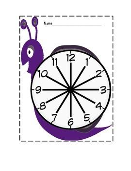 Happy Snail Partner Clocks