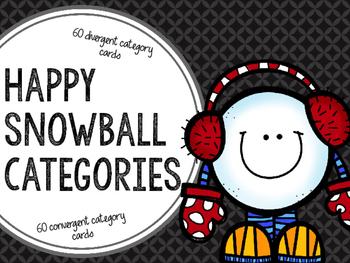 Happy Snowball Categories