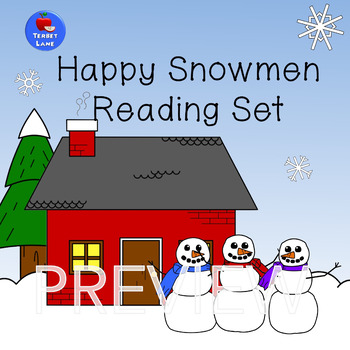 Happy Snowmen Reading Set