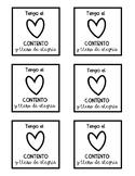 Happy Spanish sticky note templates