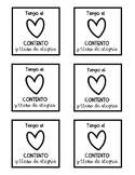 Happy Spanish sticky note templates