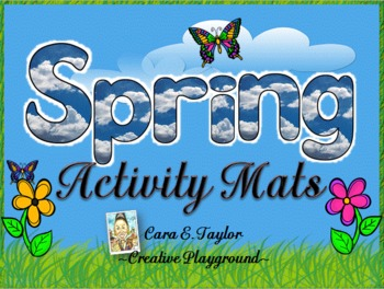 Happy Spring Activity Mats