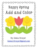 Happy Spring: Add and Color