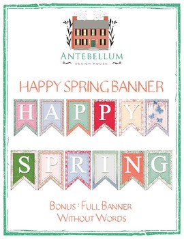 Happy Spring Banner