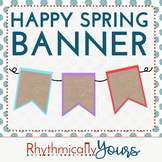 Happy Spring! Banner