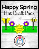 Spring Craft for Kindergarten: Happy Spring Hat