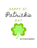 Happy St Patrick's Day: A Pre-staff & Early Elementary Solo