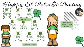 Happy St Patrick's Day Banner