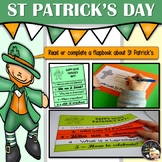 St Patrick Activities - Flapbook