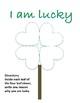 Happy St. Patrick's Day: I am Lucky Activity