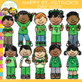 Happy St. Patrick's Day Kids Clip Art