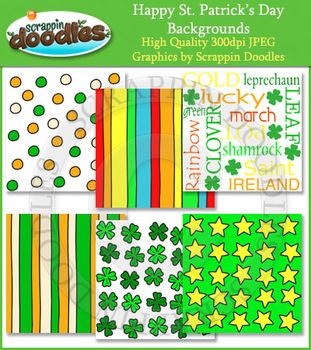 Happy St. Patrick's Day Backgrounds