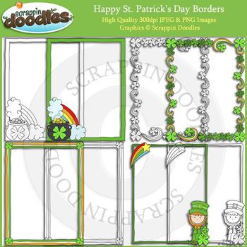 Happy St. Patrick's Day Borders