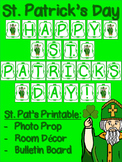 St. Patrick's Day FREE Class Photo Prop / Class Decor