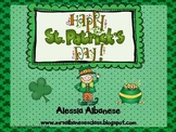 Happy St. Patrick's Day! Literacy and Math Activities