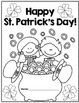 Happy St. Patrick's Day! Math and Literacy activity pages