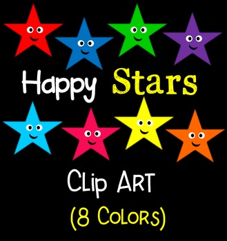 Happy Stars Clip Art