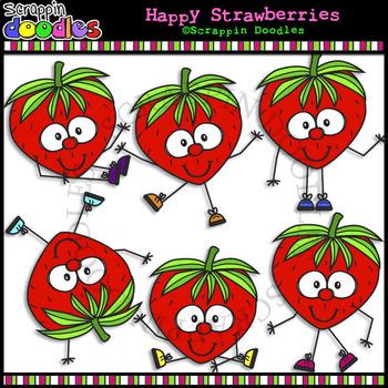 Happy Strawberries