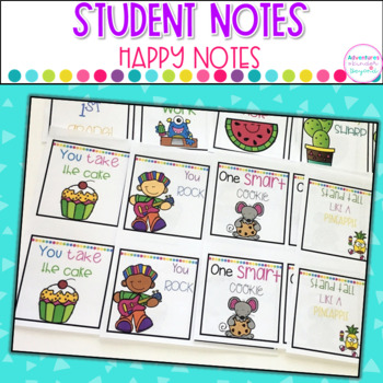 Happy Notes- Target Label Pockets