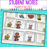 Happy Notes- Target Label Pockets