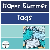 Happy Summer Gift Tags