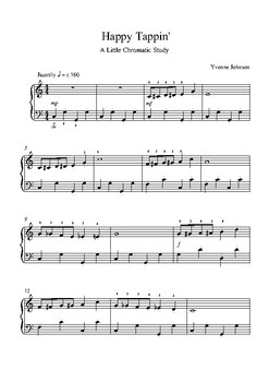 Happy Tappin' - A Level 3 Piano Study