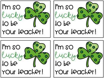 St. Patrick's Day Positive Notes