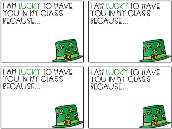 Positive Notes: St. Patrick's Day