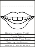 Happy Teeth Dental Hygiene Flip Book