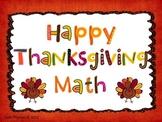 Happy Thanksgiving Addition