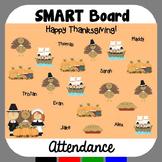 Thanksgiving SMARTBoard Attendance
