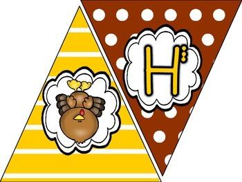 Happy Thanksgiving Banner FREEBIE