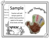 Thanksgiving Craft English Spanish