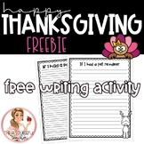 Happy Thanksgiving FREEBIE