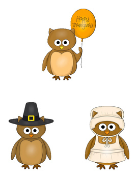 Happy Thanksgiving File Folder Game