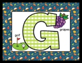 Happy Thanksgiving - Posters / Cards / Mats - Alphabet & Numbers