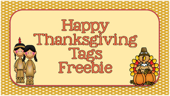 Happy Thanksgiving Tags