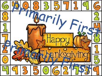 Happy Thanksgiving ~ What Makes Ten?