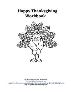 Happy Thanksgiving Workbook