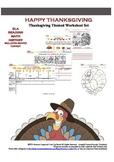 Happy Thanksgiving Worksheet Set