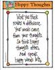 Happy Thoughts {P4 Clips Trioriginals Digital Clips Art}