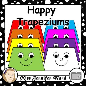 Happy Trapezium Clipart